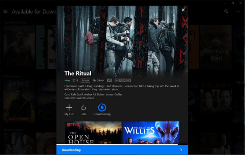 Download Movies and TV Shows From Netflix